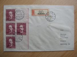 Dopis s výplatními znímkami