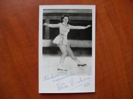 Dagmar Lerchová - krasobruslení 1950