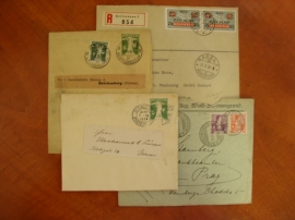 Partie dopisů