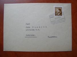 Partie dopisů s výplatními známkami