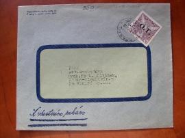 Dopis s předběžnou známkou