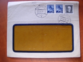 Dopis se souběžnou známkou