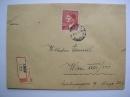Dopis s výplatní známkou
