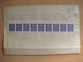 Celistvost s doplatními známkami