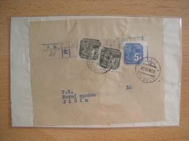 Výstřižek s novinovými známkami
